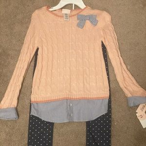 Girls two piece outfit brand new